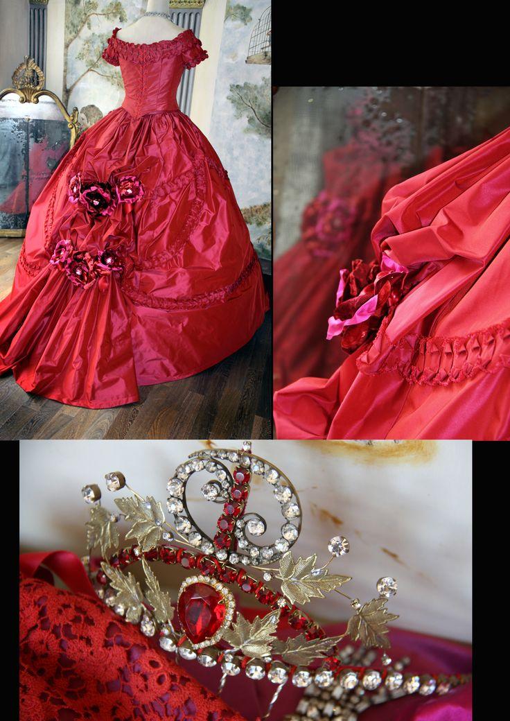 Dettaglio costume 1850 by Scatola Magica