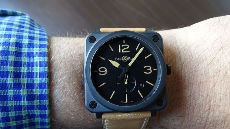 Bell Ross BR S Heritage Hombre