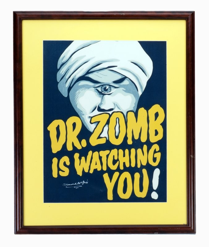 Ormond McGill. Doctor Zomb is Watching You! poster