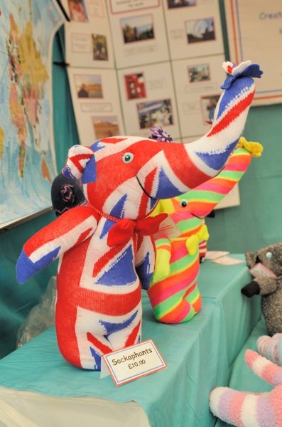 Union Jack toys from Sockamals on Greenwich Mkt