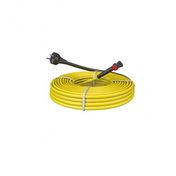 Cablu antiinghet conducte – Kit 14m degivrare conducte, cu termostat si stecher