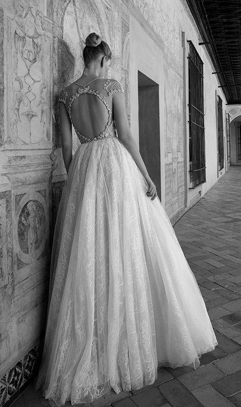 Featured Dress: Alon Livne; Wedding dress idea.