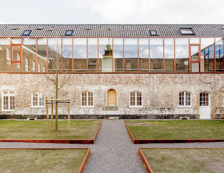 a2o architecten completes convent conversion in belgium - designboom | architecture