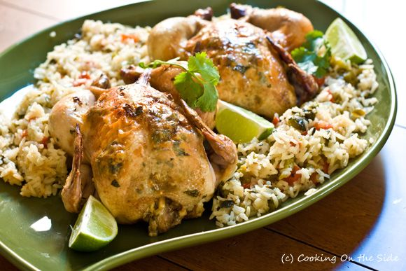 Recipe: Garlic-Lime Cornish Game Hens | Cooking On the Side