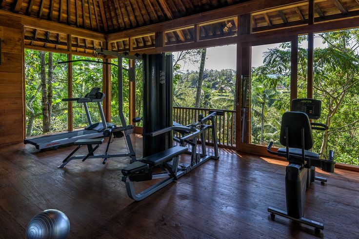 Fitness center at the Estate