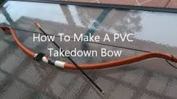 Here's How To Make A Very Powerful PVC Take Down Bow Cheap, And Easy.  http://www.thegoodsurvivalist.com/heres-how-to-make-a-very-powerful-pvc-takedown-bow-cheap-and-easy/  #thegoodsurvivalist