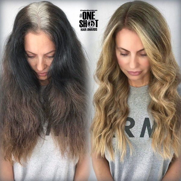 Box Dye Correction Honey Blonde Haircolor Formula Hair Color