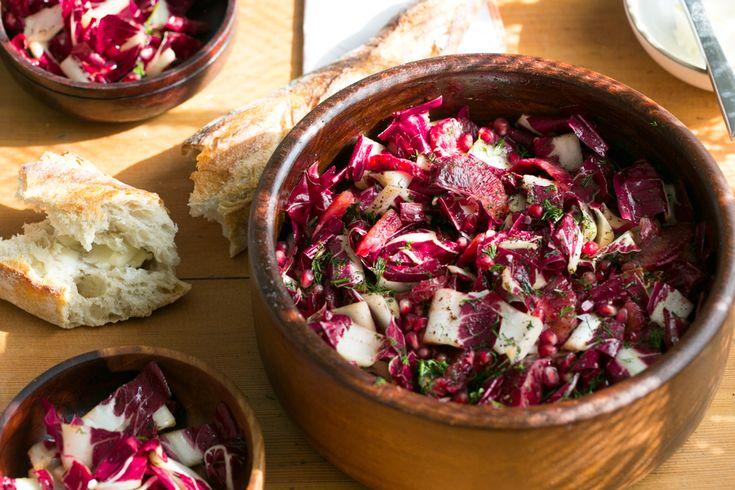 Claire Nereim's Treviso and Blood Orange Salad | SALAD for President