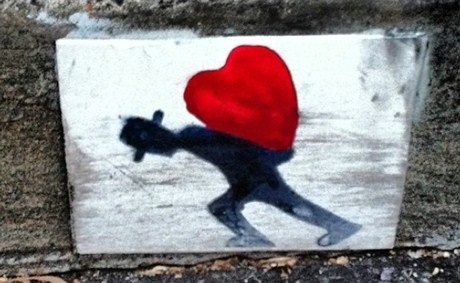 Recycle your phone are receive six of your favourite digital images free - it's the #memorymuster #love #streetart