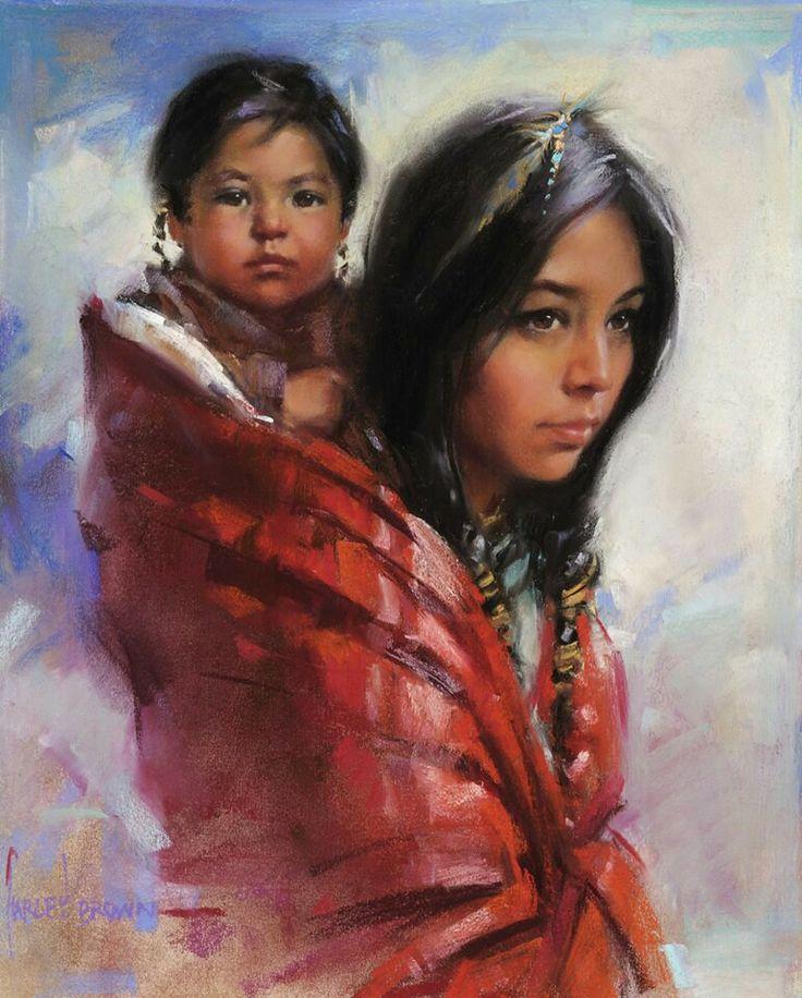 Native American   America   Native american paintings ...