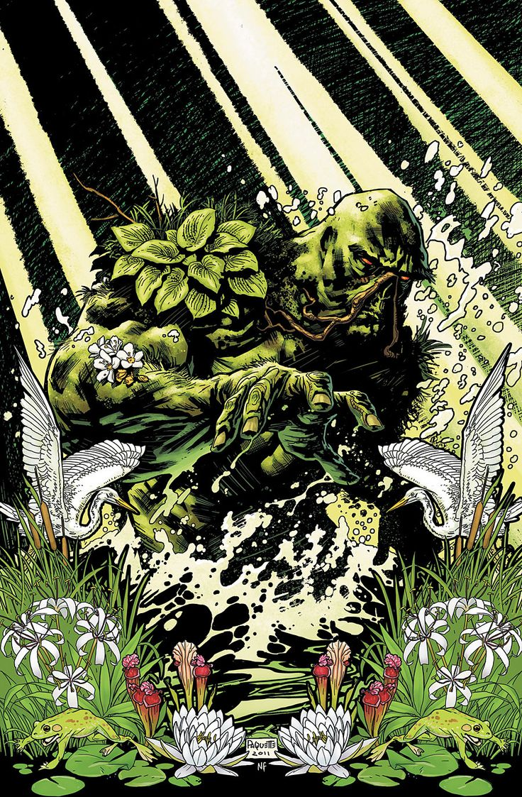 Swamp Thing 1 cover by YanickPaquette on deviantART