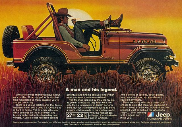 Wrangler For Sale >> 1981 Jeep ad by retro-space, via Flickr | Vintage jeep, Jeep, Jeep brand