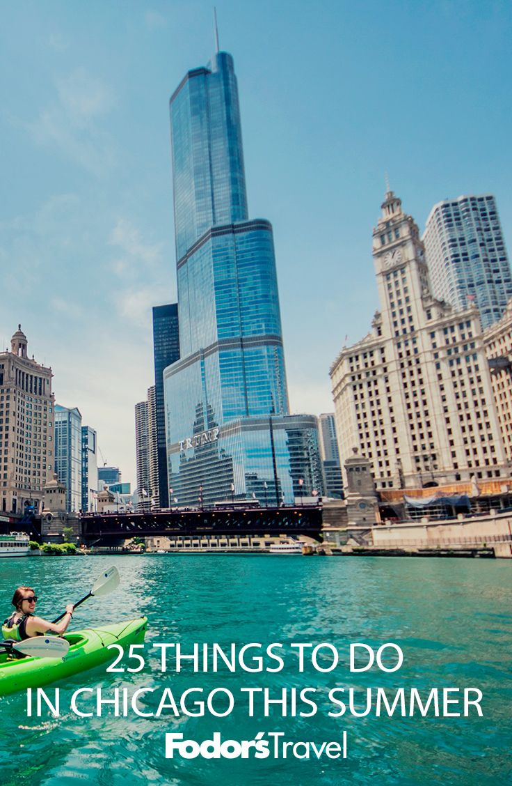 #Chicago really comes to life in summer when days are longer, temps are warmer, and the calendar is jam-packed with al-fresco festivals and events. #summertravel