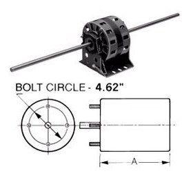 D289 5.0 Diameter Fan Coil AC Motor