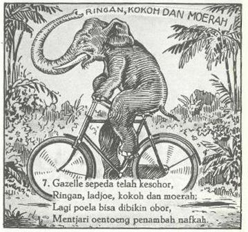 Indonesian Old Commercials:Gazelle Bicycle