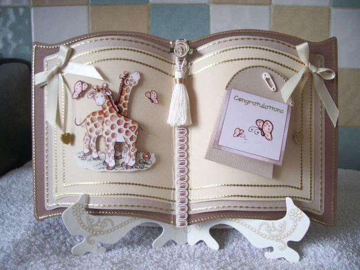Books On Card Making Part - 48: Baby Card Made With Bookatrix Board Template These Are Popular In The UK  Shame I Dont Use Mine As Often As I Should As They Make Wonderful Cards  Graphics ...