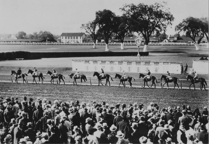 Fairgrounds racetrack in 1912