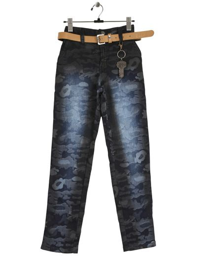 Black coloured denim boys printed jeans that will make your champ the center of attraction Product code - G3-BJE0191 Price - INR 1191/-(40% off)