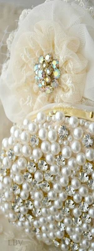 Pearls and rhinestones ❤✿ڿڰۣ( ♥LaDonna LuXe ♥༻