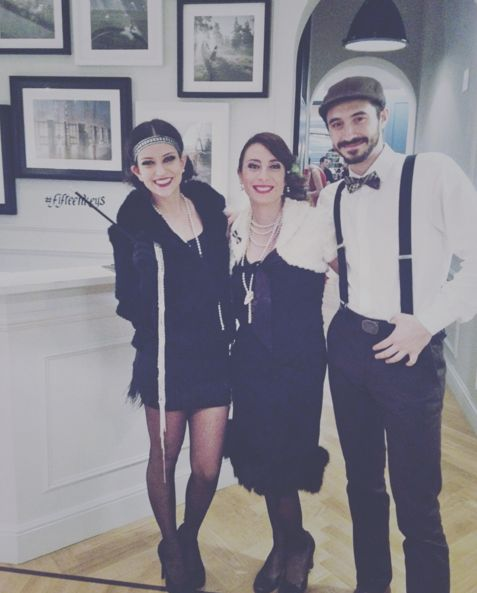 We love other centuries we would be perfect in 1920s, don't you think? #thefifteenkeyshotel #fifteenkeys #feelshomey #rionemonti #roaringtwenties #happyhour #italy #roma #rome