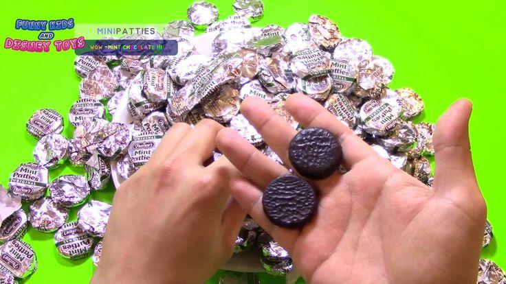 초특급슈퍼사이즈 민트 초콜릿 240개!!!!9탄! Chocolate Mint Patties Giant Pack Surprise  ...