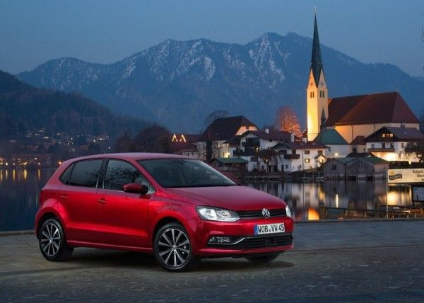 2014 Volkswagen Polo Front Exterior View 600x428 2014 Volkswagen Polo Full Review With Images