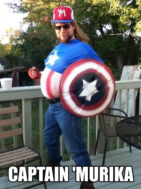 MEME - Captain Murica - www.funny-pictures-blog.com