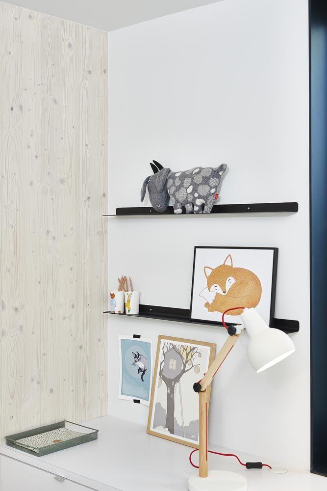 Goat and beakers Donna Wilson, shelves Bolia, desk lamp Zuiver