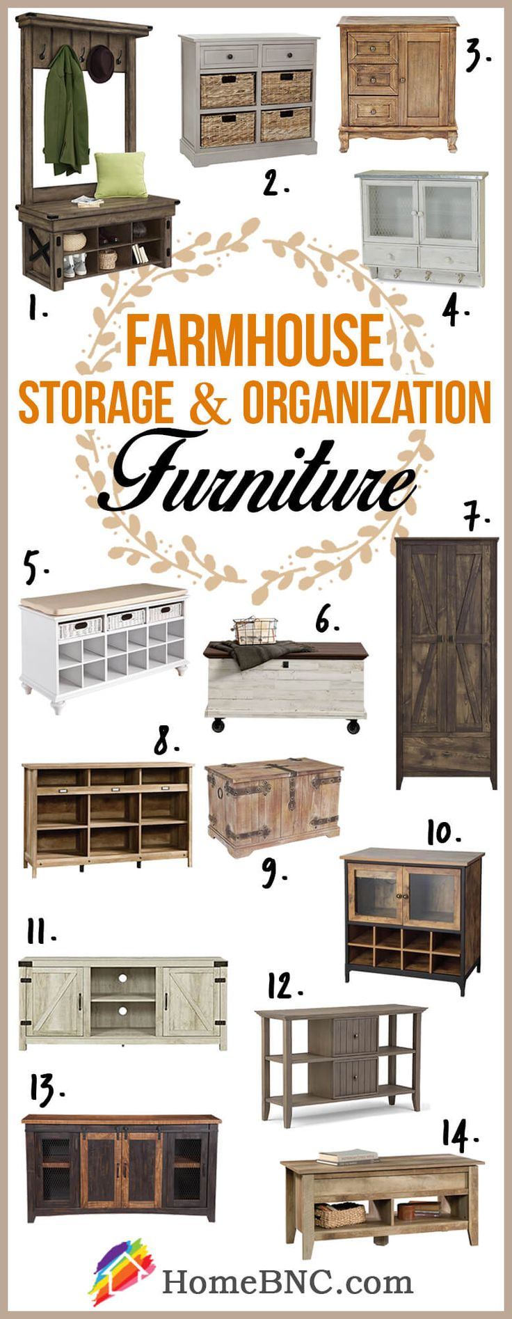 Farmhouse furniture
