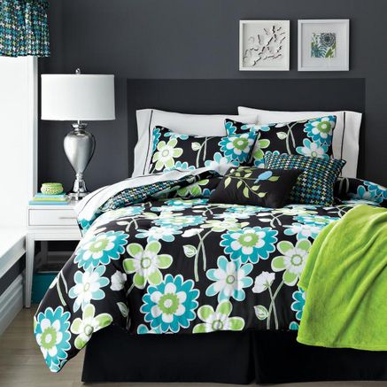 'Garden Party' Youth Comforter Set