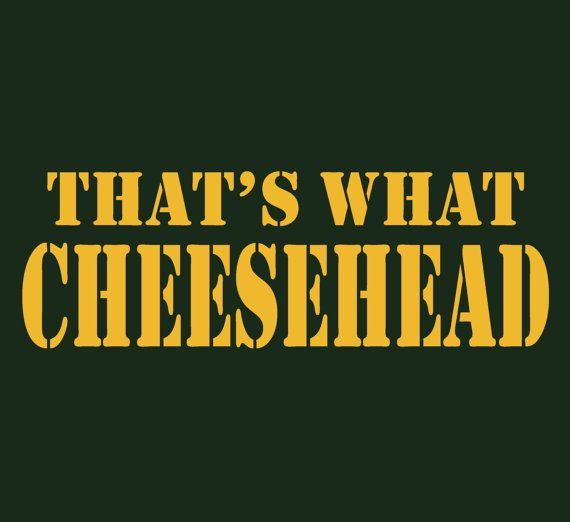 Cheesehead Shirt Thats What Cheesehead Tee Mens Packer Tee Green Bay Packers Shirt Wisconsin T-Shirt Guys Ladies Womens Go Pack S M L XL on Etsy, $14.99