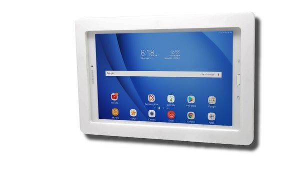 Samsung Galaxy Tab 9 6 9 7 10 1 10 5 Tablet Acrylic Security Vesa Enclosure W Wall Mount In 2020 Tablet Galaxy Tab Samsung Galaxy 9