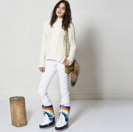 #moonboot #shoes #ayakkabi #winter #style #moda #fashion #rainbow #colors www.markapark.com