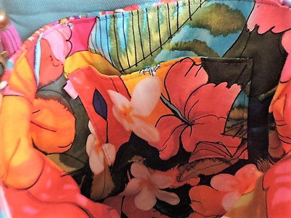 borsa tracolla velluto floreale di lecosedikokeshi su Etsy