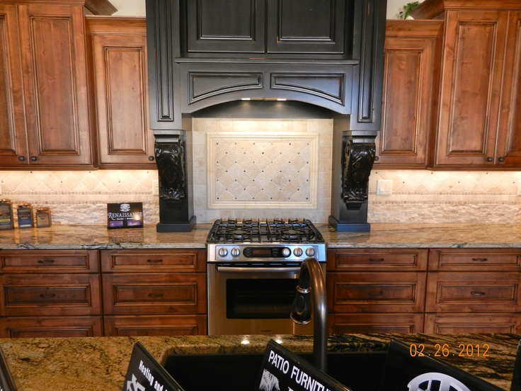 St. George Parade of Homes  Brown & Black Kitchen