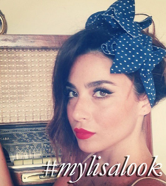abeeryouness recreating my 'Pin Up Look' http://www.lisaeldridge.com/video/2720/pin-up-look/ #MyLisaLook