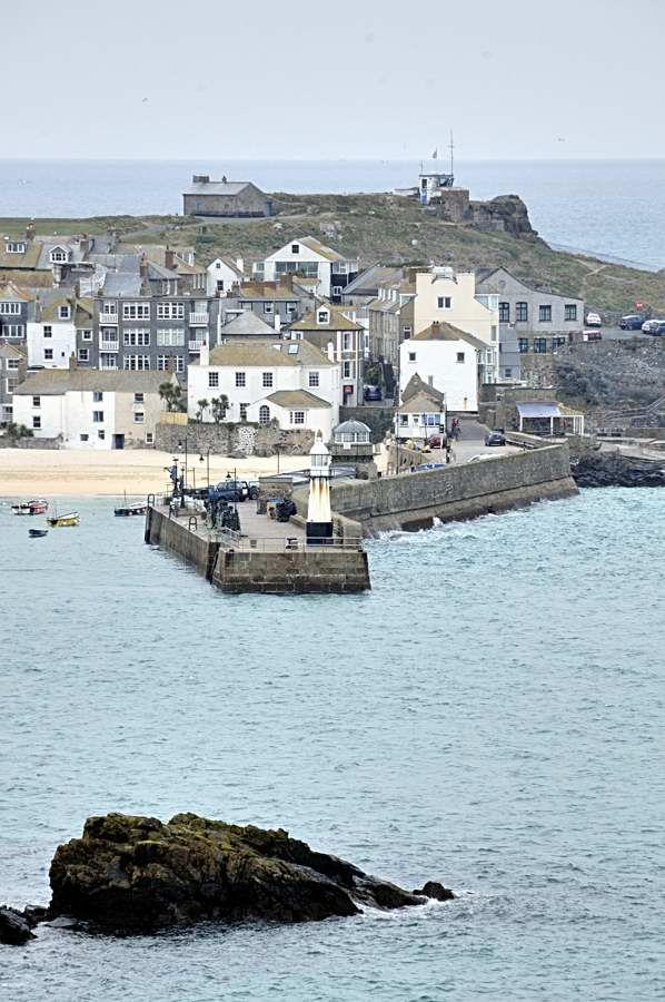 The Pier, St Ives, Cornwall, England