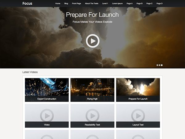 Focus — Free WordPress Themes