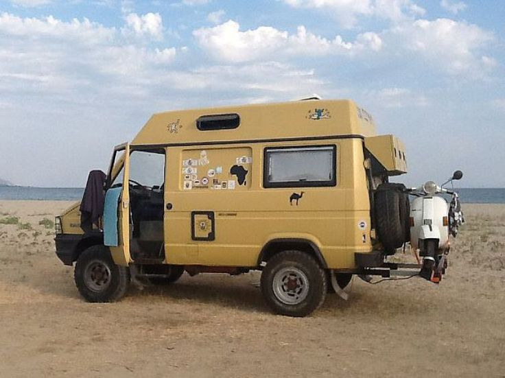 Iveco Daily 4×4 Panel Van Camper with Motorcycle lift – Italy – €18,999