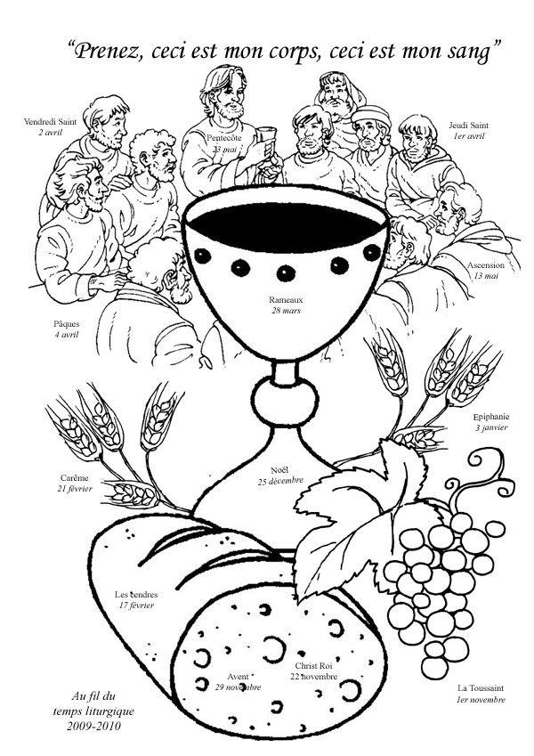 communion coloring pages jesus - photo#28