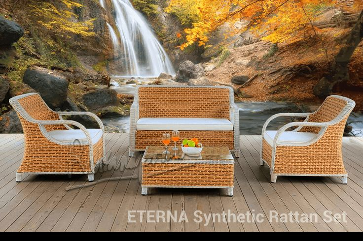 ETERNA – Synthetic Rattan Set