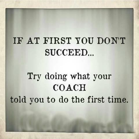 If at first you don't succeed......
