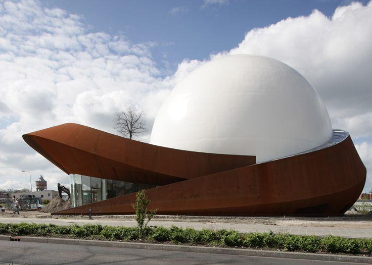 Cinema meets planetarium at Archiview's Infoversum theatre