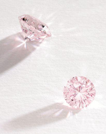 Sothebys Fancy Light Pink Diamond