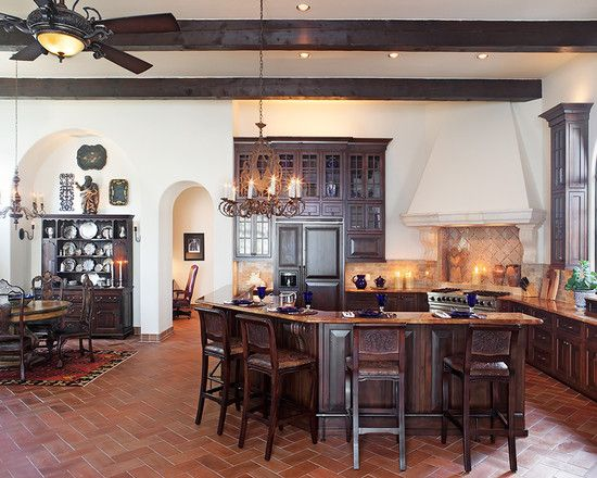 Lake home kitchen more for Lake house kitchen designs