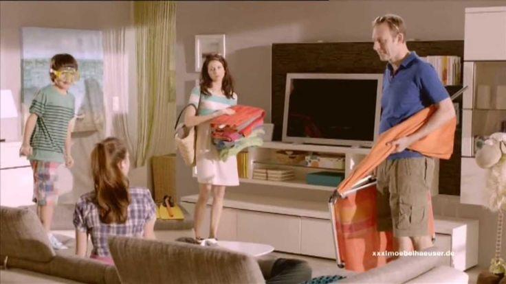 """XXXL Möbelhäuser """"so will ich wohnen"""" """"Sommerschlußverkauf mit bis zu 77%"""" Werbung"""