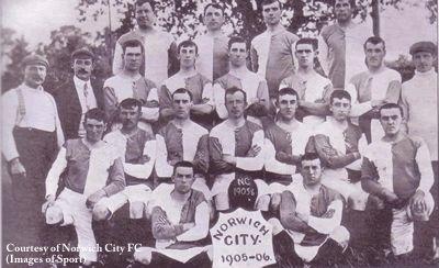 norwich city 1905-06