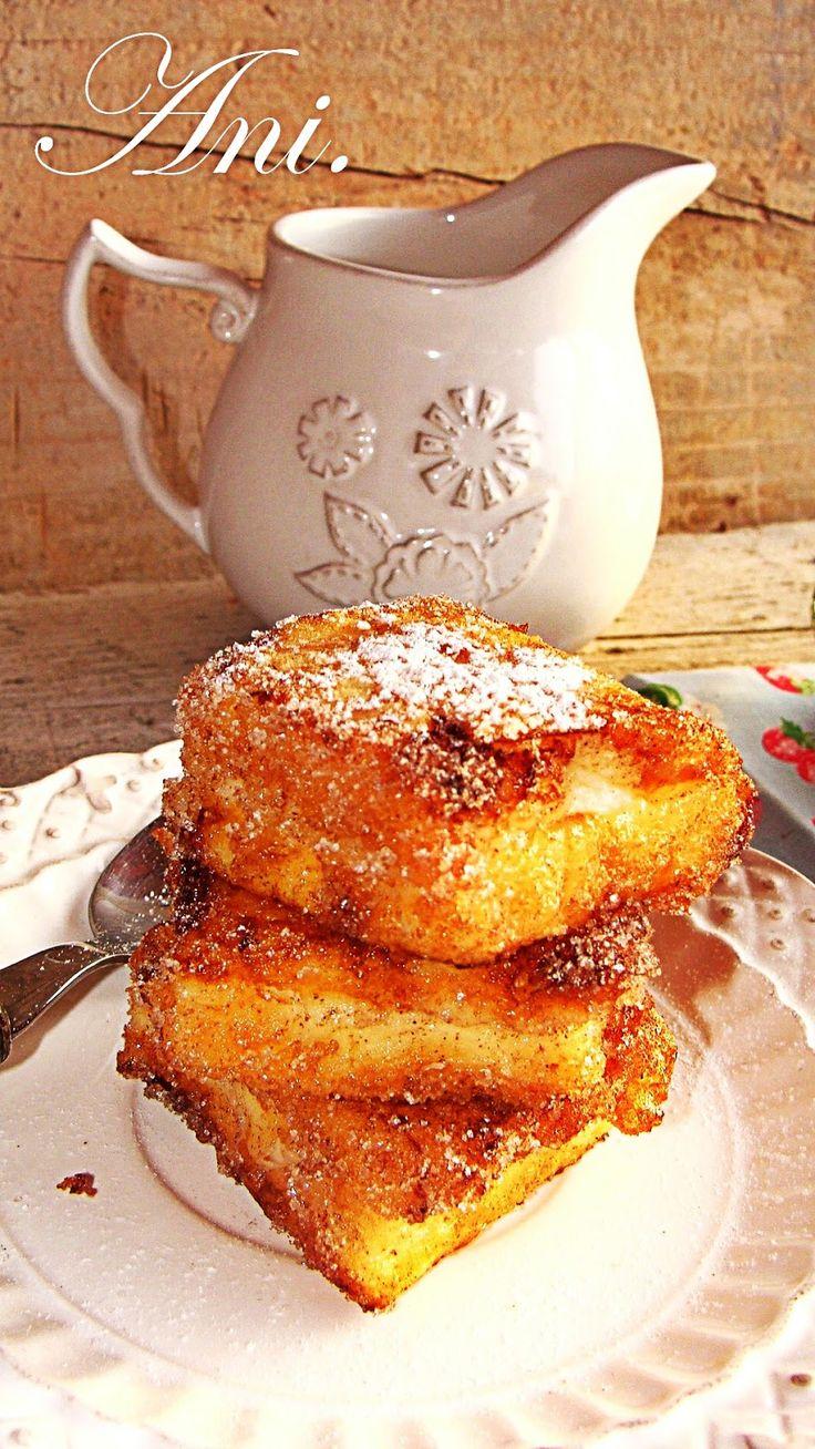 La leche frita  es un delicioso postre tradicional  y típico  del norte de España aunque también se hace mucho en Andalucía y en otras zona...