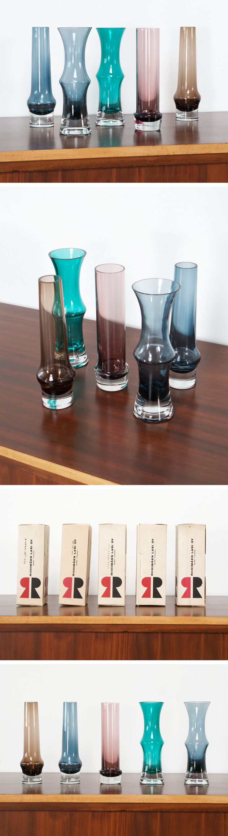 Riihimaen Lasi Oy 5 Riihimaki glass works Tamara Aladin