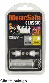MusicSafe Classic Natural Sound Musicians Ear Plugs
